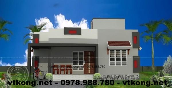 Nhà cấp 4 nông thôn NETNC411