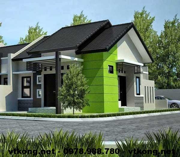 Nhà cấp 4 mái thái đẹp NETNC438