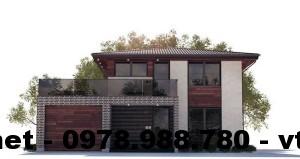 Thiết kế nội thất biệt thự 2 tầng mái thái 10x12m NETBT2T6