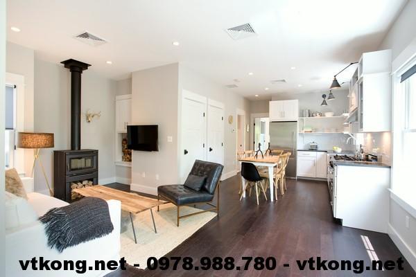 Nội thất phòng khách nhà đẹp NETNC493