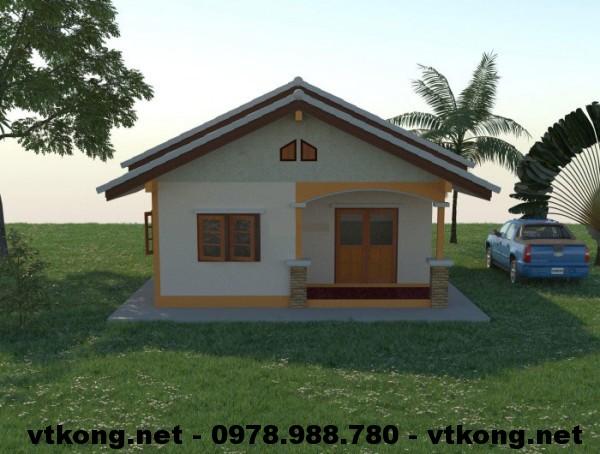 Mặt tiền nhà nhỏ đẹp NETNC4102