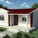 Thiết kế nhà mái tôn đẹp, mẫu nhà mái tôn NETNC4101