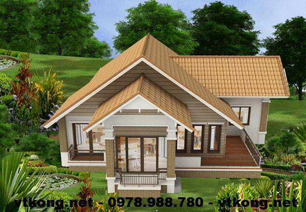Nhà đẹp cấp 4 NETNC4104