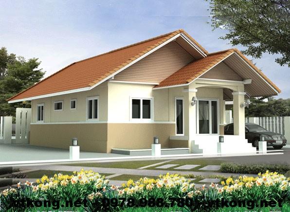 Nhà nhỏ đẹp mái thái NETNC4103
