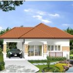 Mẫu nhà đẹp nhỏ xinh, thiết kế nhà nhỏ đẹp xinh NETNC4107