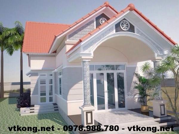 Nhà cấp 4 mái thái NETNC4105
