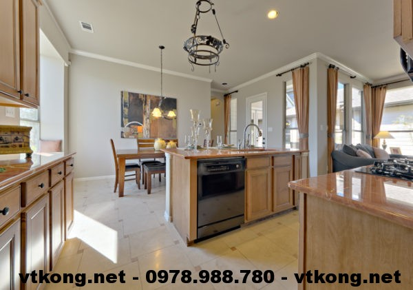 Phòng bếp biệt thự NETBT2T10