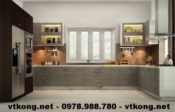 Phòng bếp biệt thự NETBT3T7