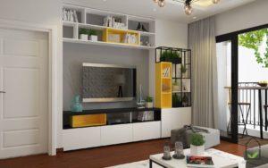 Thiết kế nội thất, nội thất chung cư hiện đại NETNTCC1