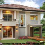 4 mẫu biệt thự đẹp 2 tầng, các mẫu nhà đẹp 2 tầng NETBT2T11-14