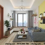 Thiết kế chung cư nhỏ đẹp, nội thất chung cư nhỏ đẹp NETNTCC4