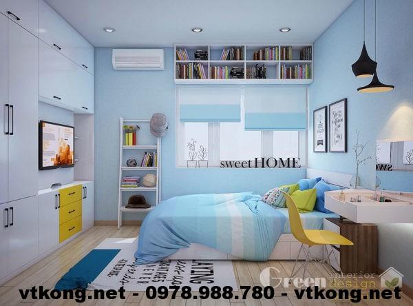 Phòng ngủ chung cư NETNTCC3