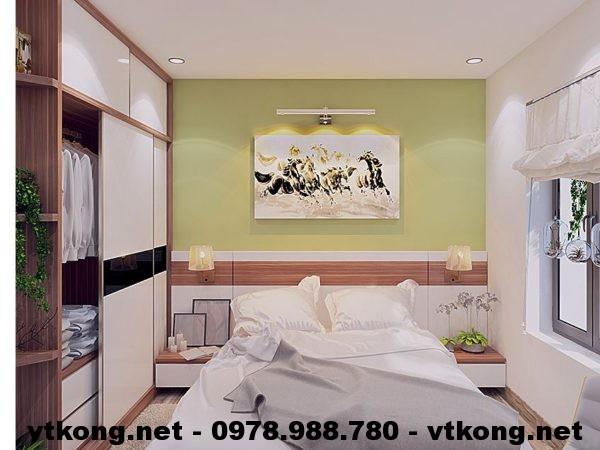 Phòng ngủ chung cư nhỏ đẹp NETNTCC4