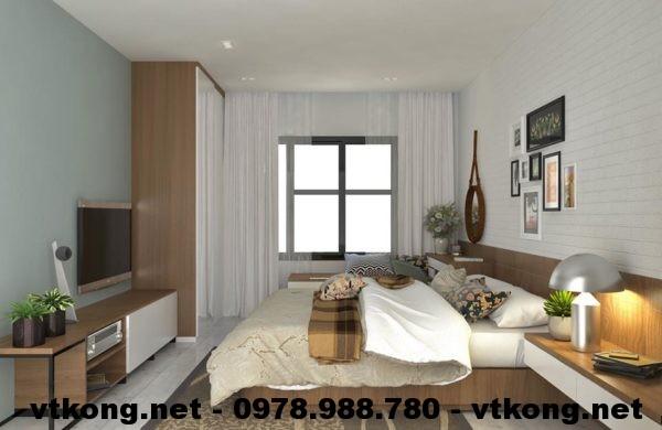 Phòng ngủ master chung cư NETNTCC2