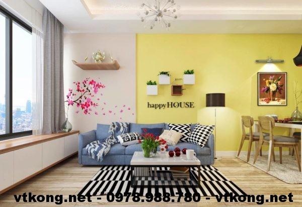 Thiết kế chung cư nhỏ đẹp NETNTCC4