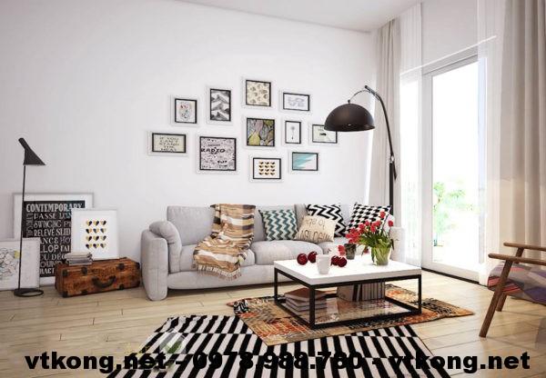 Thiết kế nội thất nhà chung cư NETNTCC3
