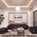 Thiết kế nội thất nhà phố Tây Hồ, nội thất nhà phố đẹp NETNTNP1