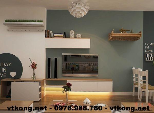 Kệ tivi chung cư cao cấp NETNTCC7