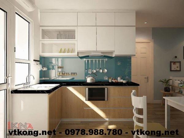 Nội thất phòng bếp chung cư 70m2 NETNTCC7