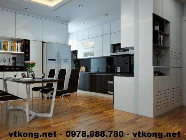Phòng bếp chung cư hiện đại NETNTCC9