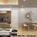 Thiết kế chung cư đẹp, thiết kế nhà chung cư đẹp NETNTCC11