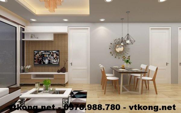 Phòng khách chung cư đẹp NETNTCC11