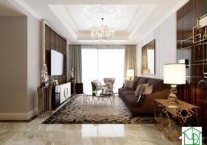 Thi công chung cư giá rẻ, thiết kế nội thất chung cư giá rẻ NETNTCC8