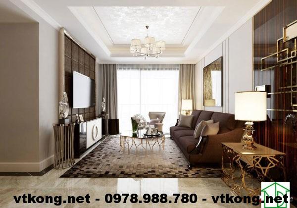 Phòng khách chung cư hiện đại NETNTCC8