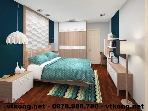Phòng ngủ bố mẹ chung cư NETNTCC7