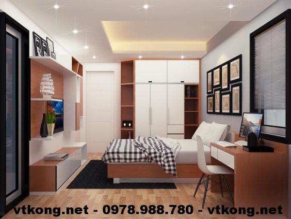 Phòng ngủ con chung cư NETNTCC11