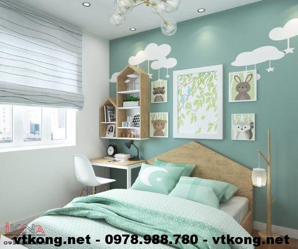Phòng ngủ con chung cư NETNTCC7