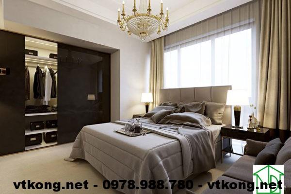 Phòng ngủ con chung cư đẹp NETNTCC8