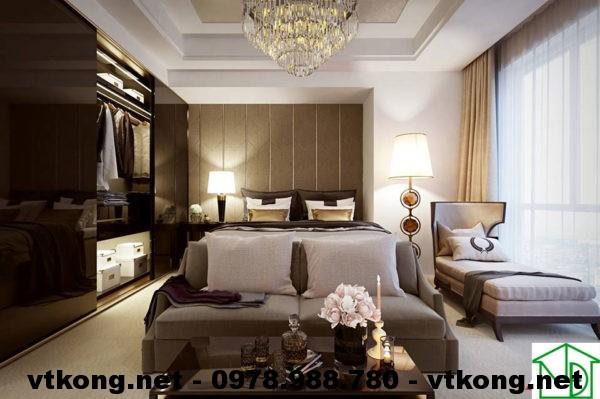 Phòng ngủ master chung cư NETNTCC8