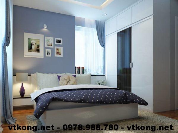 Phòng ngủ master chung cư đẹp NETNTCC9