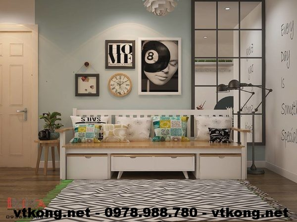 Sofa chung cư cao cấp NETNTCC7
