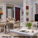 Thiết kế nội thất căn hộ chung cư, nội thất chung cư đẹp NETNTCC5