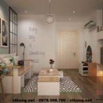 Thiết kế nội thất chung cư, thiết kế nội thất chung cư cao cấp NETNTCC7