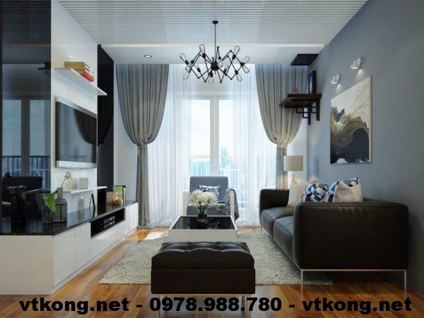 Thiết kế nội thất chung cư NETNTCC9