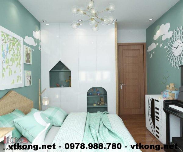 Tủ quần áo phòng ngủ con NETNTCC7