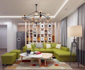 Thiết kế nội thất chung cư, thi công nội thất chung cư NETNTCC12