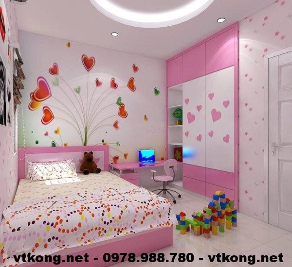 Phòng ngủ bé gái NETTKNT1