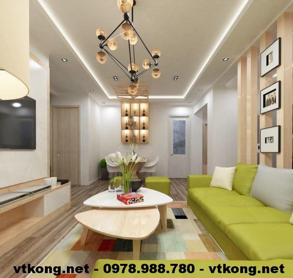 Thiết kế nội thất chung cư NETNTCC12