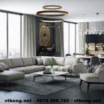 Thiết kế chung cư đẹp, thiết kế nội thất chung cư đẹp NETNTCC13