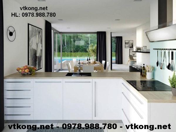 Nội thất phòng bếp đẹp netbt2t15