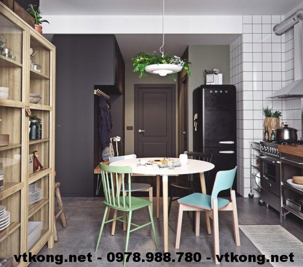 Bàn ghế ăn chung cư netntcc14