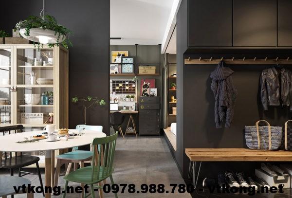 Nội thất chung cư đẹp netntcc14