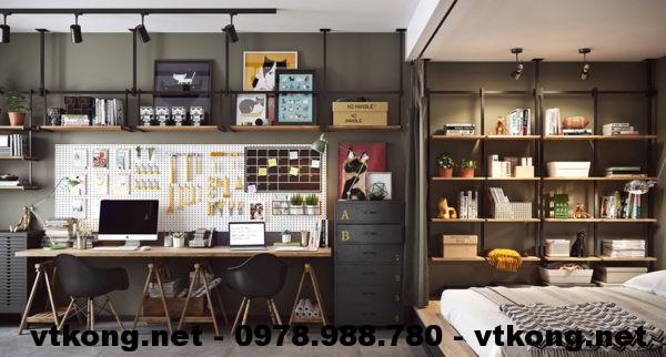 Phòng ngủ chung cư đẹp netntcc14