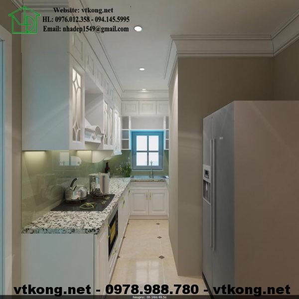 Phòng bếp tân cổ điển NETNTCC15