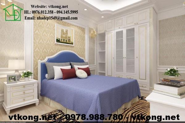 Phòng ngủ chung cư đẹp NETNTCC15