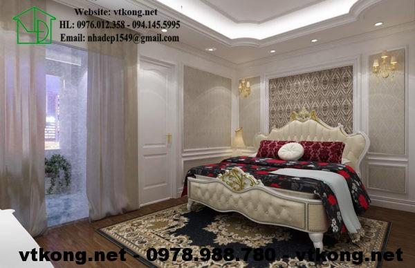 Phòng ngủ master tân cổ điển NETNTCC15